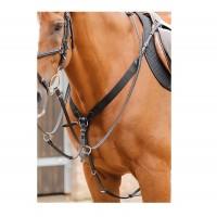 Premier Equine Vorderzeug mit elastischen Einsätzen Baressa Elastic Jumping Breastplate