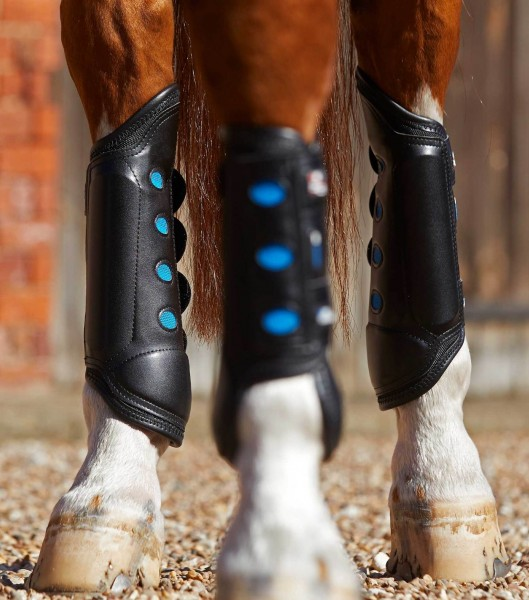 Premier Equine Air Cooled Original Eventing Boots Rear Gaiters