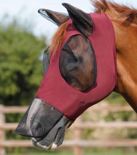 Premier Equine Fly Mask Comfort Tech Xtra Lycra Fly Mask