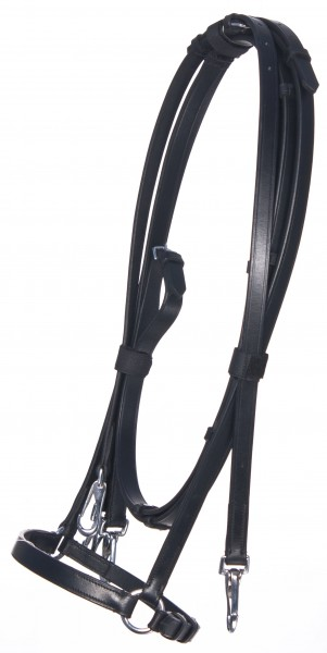 bb Iceland snaffle with hannovan noseband