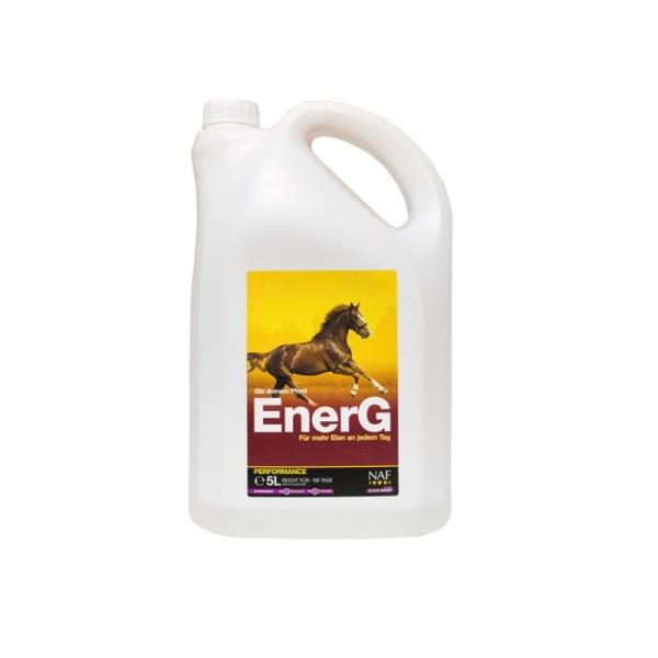 NAF Zusatzfuttermittel EnerG Liquid 5 Liter