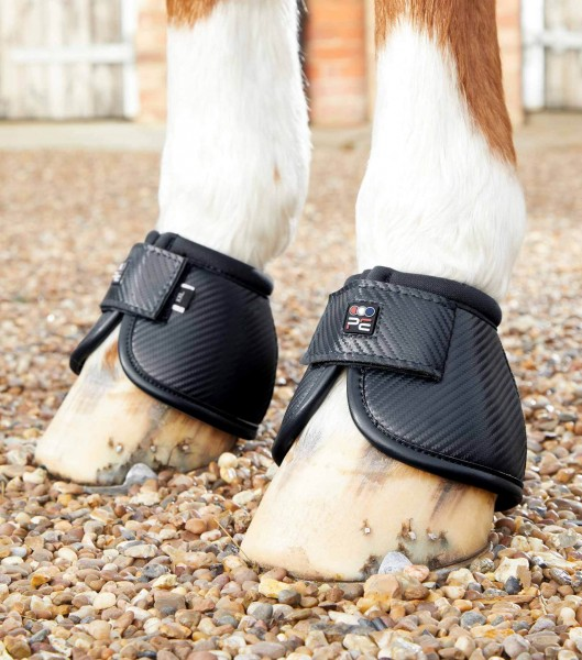 Premier Equine hoof boots Carbon Tech Kevlar No-Turn Over Reach Boots