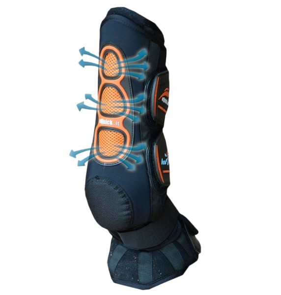 eQuick Stable boots Aero front