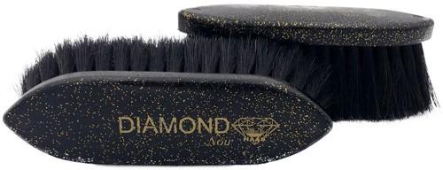 """HAAS Fellbürste """"Diamond noir"""" klein 5 cm"""