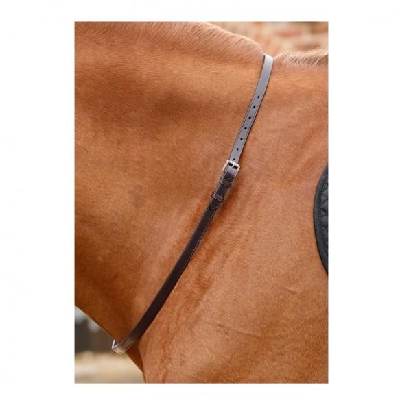 Premier Equine Leather Neck Strap Altino Horse Neck Strap