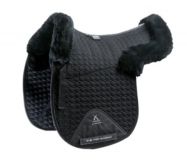 Premier Equine Jumping Saddle Pad Numnah with Merino Wool