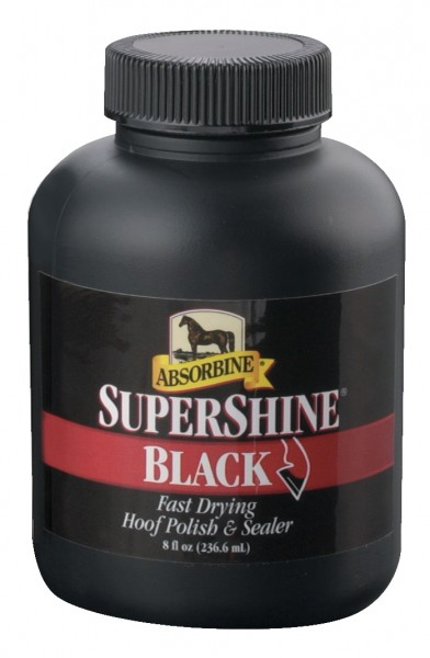Absorbine SuperShine Hoof Varnish Black