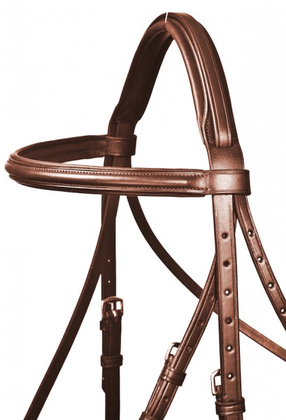 bb brown snaffle english combined