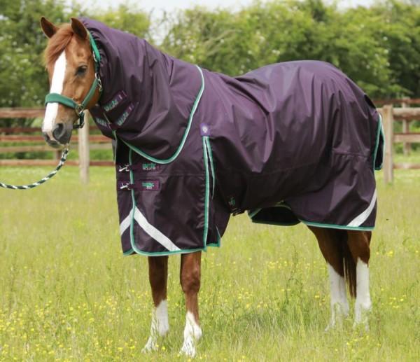 Premier Equine Weidedecke Buster 200g Turnout Rug mit Halsteil