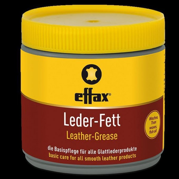 Effax Leather grease yellow 500 ml