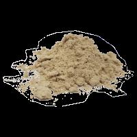 Marshmallow root, ground