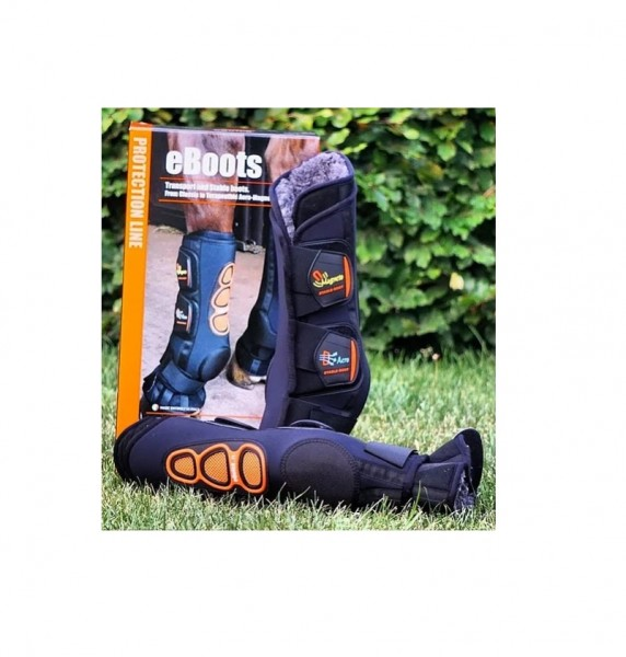 eQuick Stable boots eBoots Kristal AeroMagneto rear