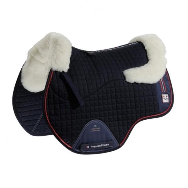 Premier Equine Saddle Pad Sports Wool European GP/Jump Square