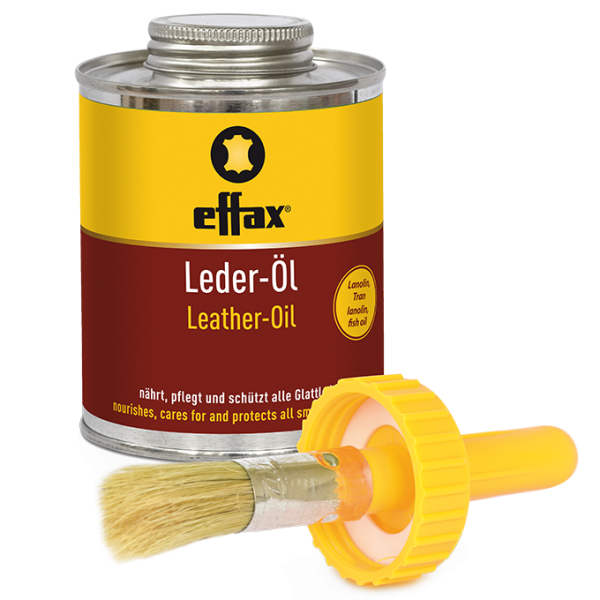Effax Lederöl mit Pinsel 475 ml