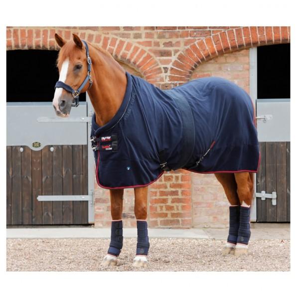 Premier Equine Buster Fleece Cooler Rug Prestige Edition